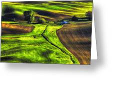 Palouse Glow Greeting Card