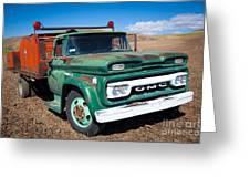 Palouse Gmc Truck Greeting Card