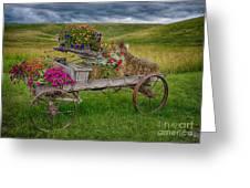 Palouse Welcome Wagon Greeting Card
