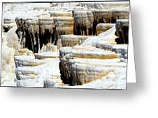 Pamukkale Terraces Greeting Card