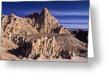 Panaca Sandstone Formations Cathedral Gorge State Park Nevada Greeting Card