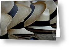 Panama Hats Greeting Card