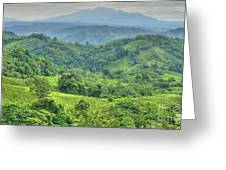 Panama Landscape Greeting Card