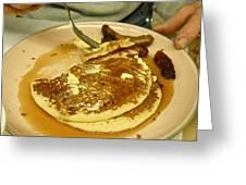 Pancake Breakfast Greeting Card