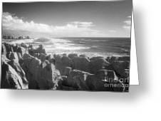 Pancake Rocks Punakaiki West Coast Nz Greeting Card