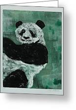 Panda - Monium Greeting Card