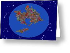 Pangea Ultima Greeting Card