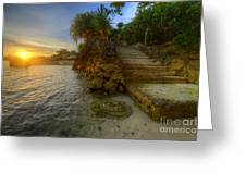 Panglao Island Nature Resort 2.0 Greeting Card
