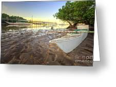 Panglao Port Sunset 4.0 Greeting Card