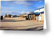 Panorama Cedar Cove Rv Park Street 3 Greeting Card