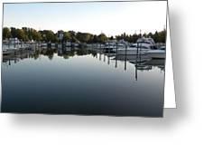 Panorama Harbor 02 Greeting Card