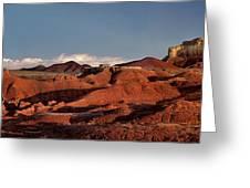 Panorama Of Goblin Valley State Park Utah Greeting Card