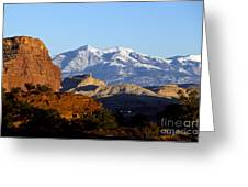 Panorama Point Capitol Reef National Park Utah Greeting Card