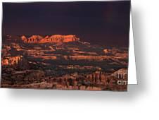 Panorama Rainbow Bryce Canyon National Park Utah Greeting Card