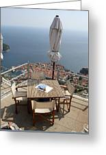 Panorama Restaurant Greeting Card