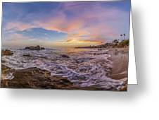 Panorama The Whole Way Round The Cove Greeting Card