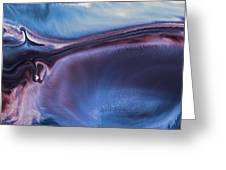 Panoramic Contemporary Abstract Art-in Limbo By Kredart Greeting Card