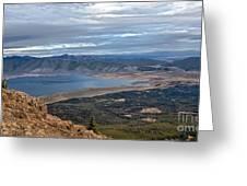 Panoramic Of Henry's Lake Greeting Card