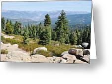 Panoramic Point Greeting Card