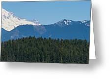 Panoramic Rainier Rt.25 Greeting Card