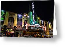 Pantages Theater Greeting Card