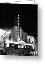Pantages Theatre Greeting Card