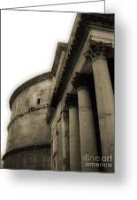 Pantheon Greeting Card