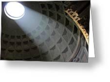 Pantheon Light Greeting Card