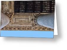 Pantheon Pillars 5 Greeting Card