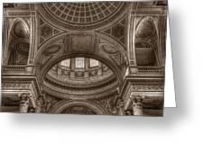 Pantheon Vault Greeting Card
