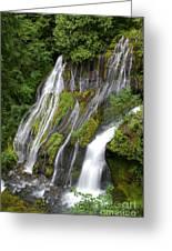 Panther Creek Falls 2- Washington Greeting Card
