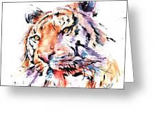 Panthera Tiger II Greeting Card