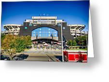 Panthers Stadium Greeting Card