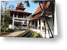 Panviman Chiang Mai Spa And Resort - Chiang Mai Thailand - 011384 Greeting Card