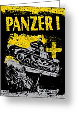 Panzer I Greeting Card