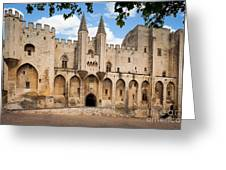 Papal Castle In Avignon Greeting Card