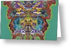 Papalotl Series Vlll Greeting Card