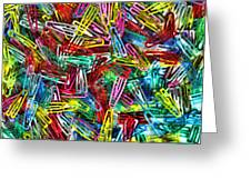 Paper Clips Greeting Card