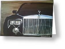 Par De Elegance Rolls Royce Phantom Greeting Card