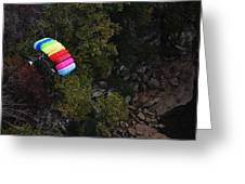 Parachute Greeting Card