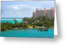 Paradise And Atlantis Greeting Card
