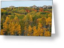 Paradise Autumn Greeting Card
