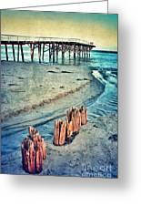 Paradise Cove Pier Greeting Card