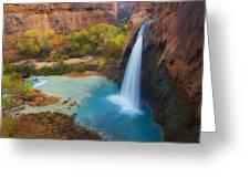 Paradise Falls Greeting Card