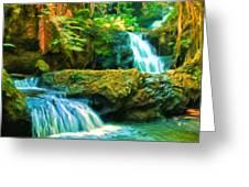 Paradise Found Greeting Card