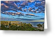 Paradise Is Nice By Diana Sainz Greeting Card