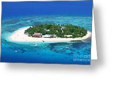 Paradise Island In South Sea IIi Greeting Card by Lars Ruecker