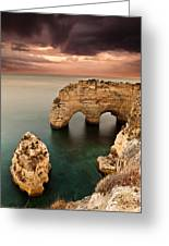 Paradise Greeting Card by Jorge Maia
