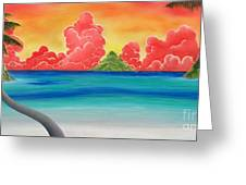 Paradise Panorama Greeting Card