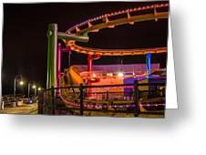 Paradise Park At Night Greeting Card